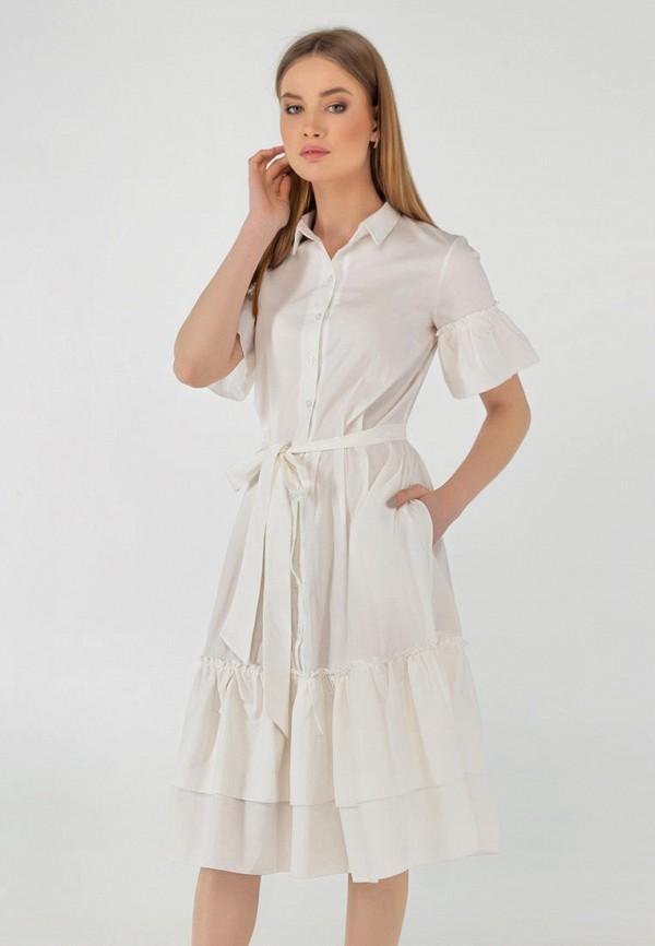 женское повседневные платье viravi wear, белое