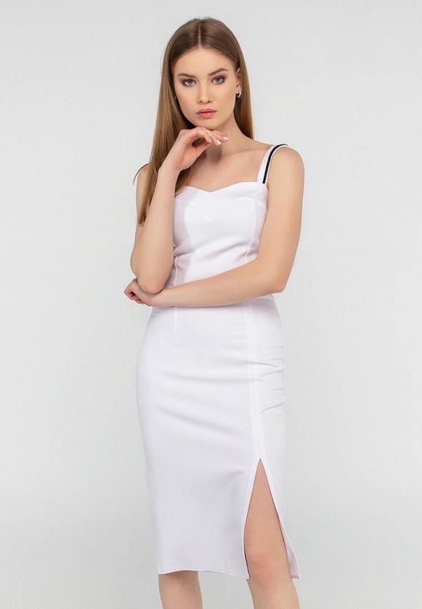женское платье-футляр viravi wear, белое