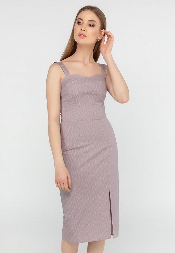 женское платье-футляр viravi wear, серое