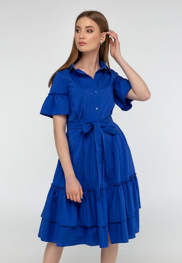 женское повседневные платье viravi wear, синее