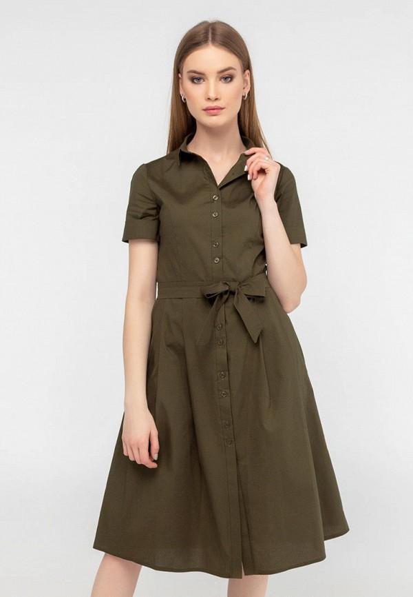 женское платье viravi wear, хаки