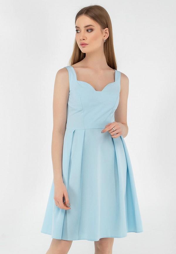 женское повседневные платье viravi wear, голубое