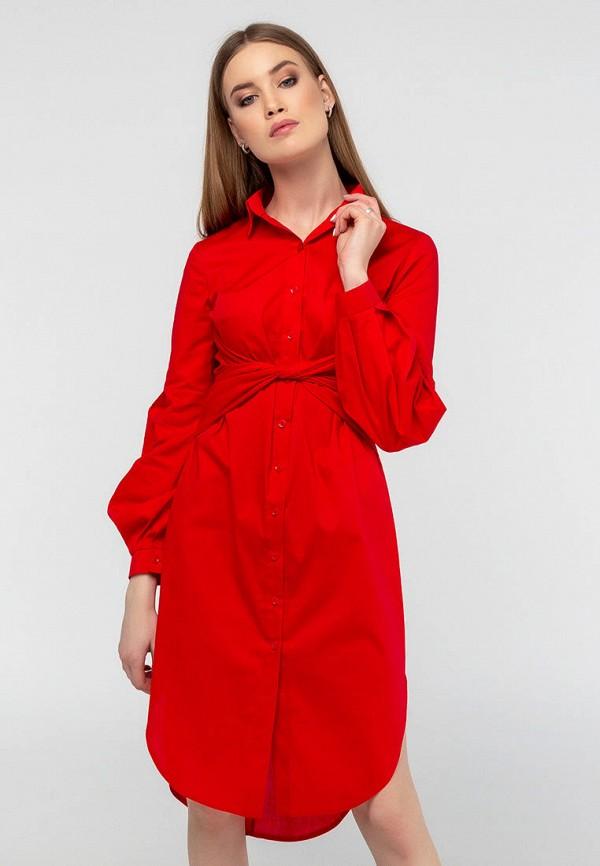 женское платье viravi wear, красное