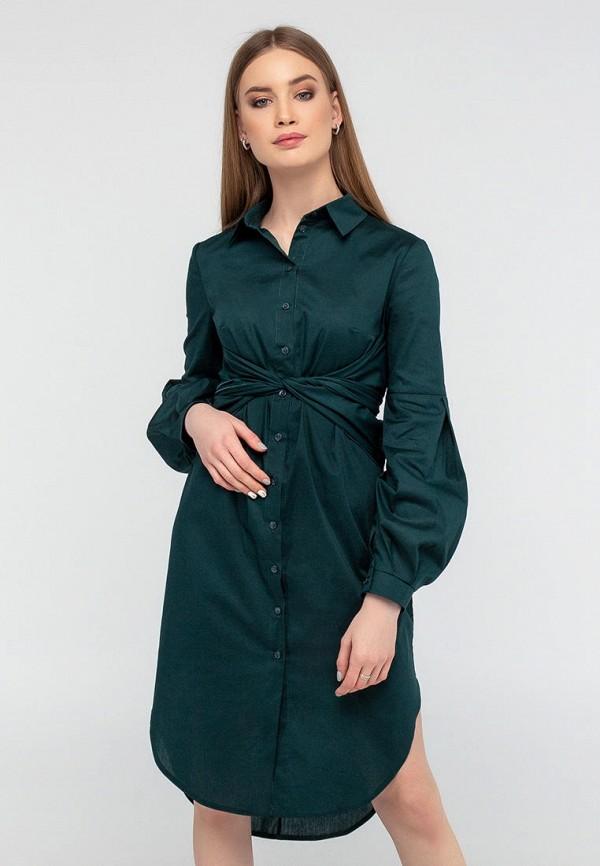 женское платье viravi wear, зеленое