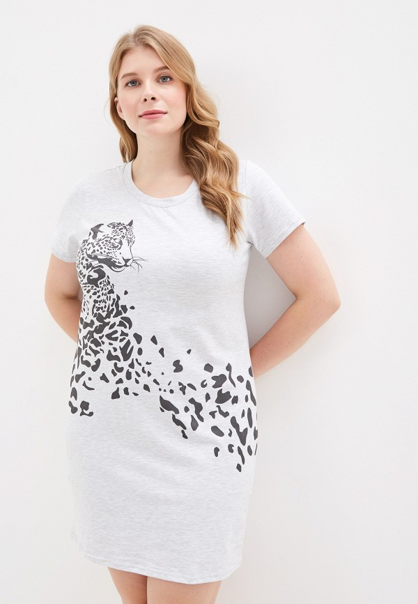 женское платье lika dress, серое