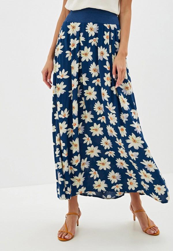 женская юбка adzhedo, синяя