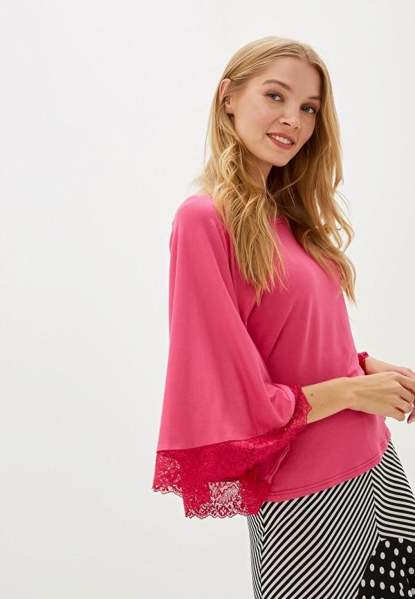 женская блузка adzhedo, розовая