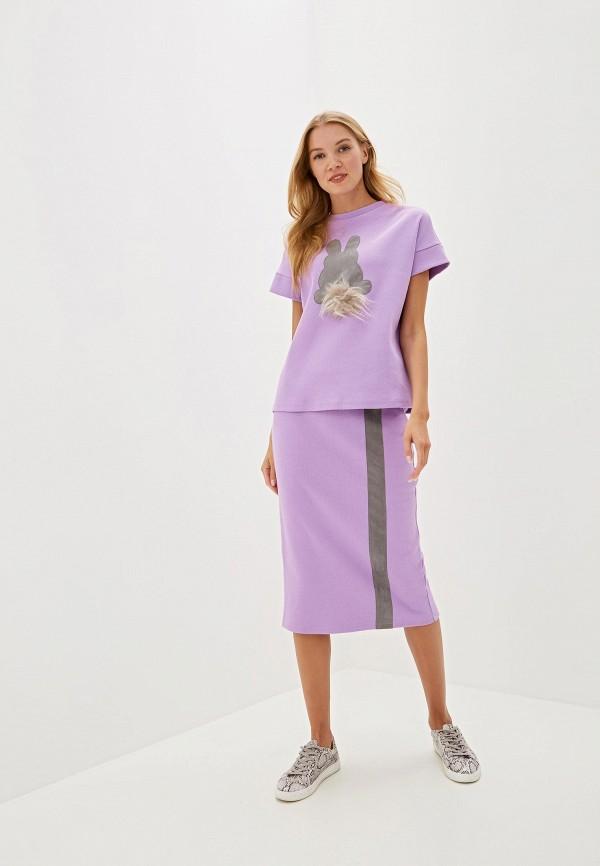 женский костюм adzhedo, фиолетовый