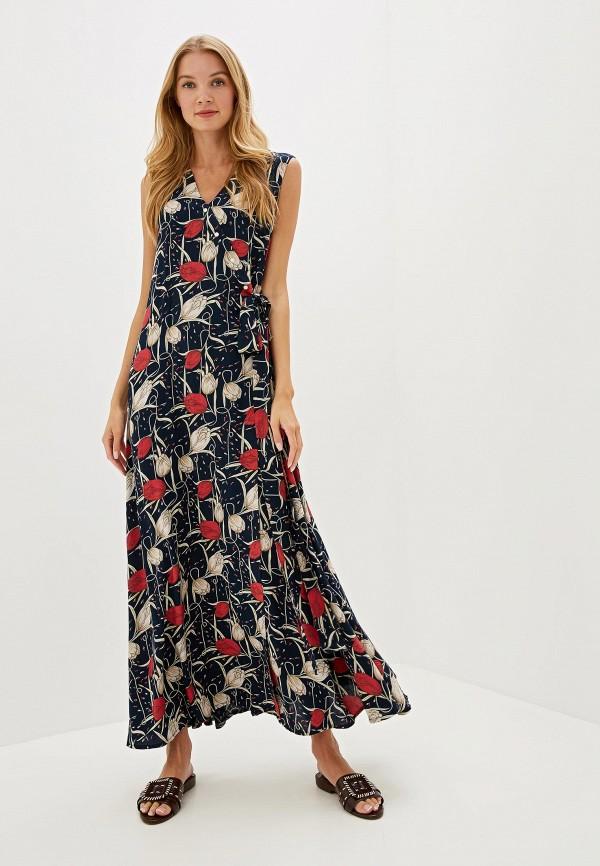 женское платье adzhedo, синее