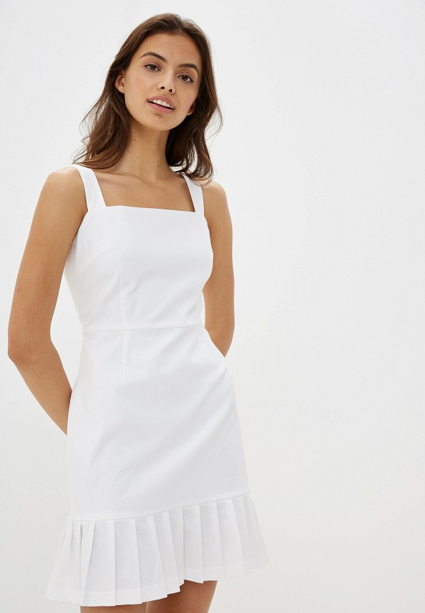 женское платье self made, белое