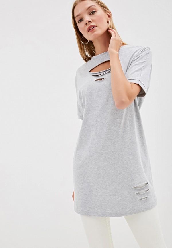 Фото - Женскую тунику Tantino серого цвета