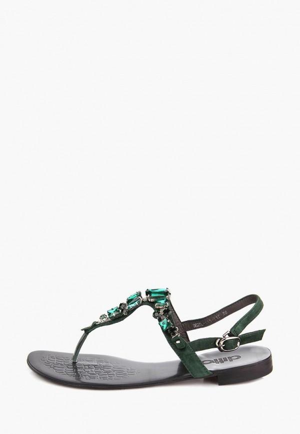 женские сандалии ditto, зеленые