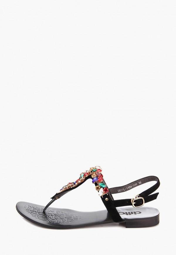 женские сандалии ditto, черные