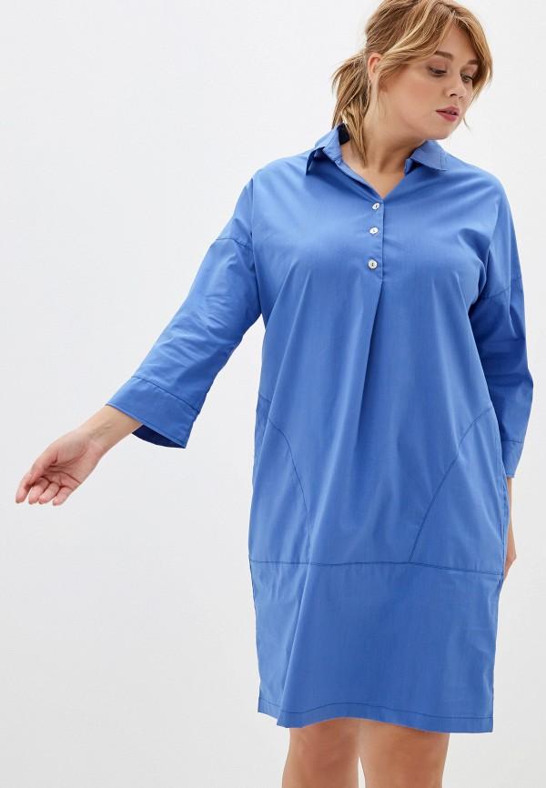 женское платье olsi, синее