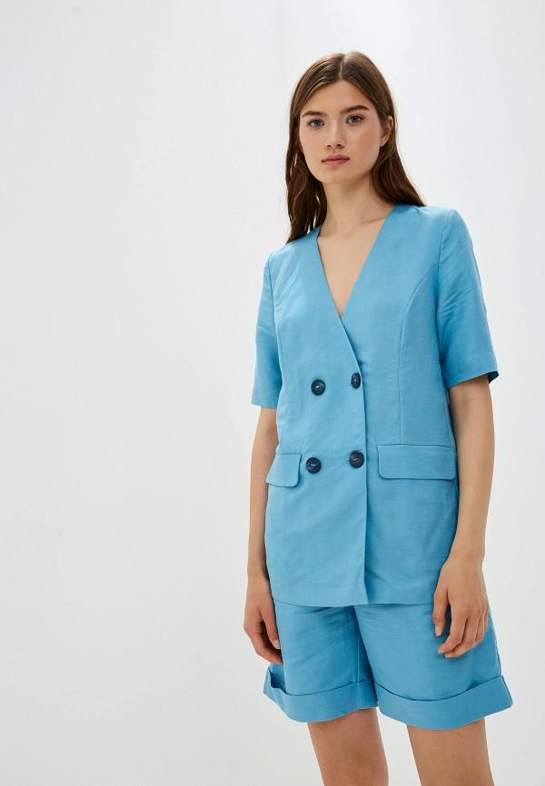 женский костюм aylin stories, голубой