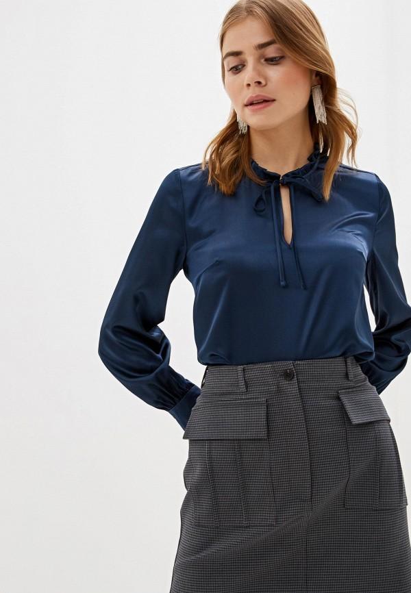 Фото - Женскую блузку Aylin Stories синего цвета
