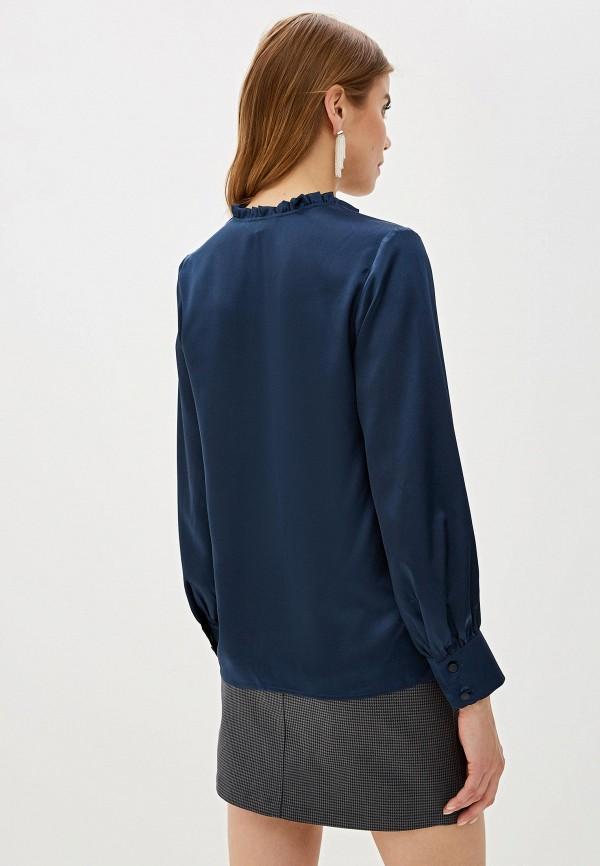 Фото 3 - Женскую блузку Aylin Stories синего цвета