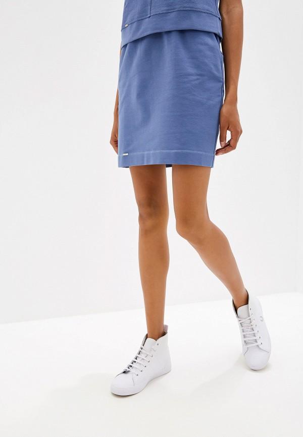 женская юбка prio, синяя