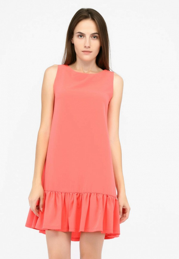 Фото - Женское платье SFN кораллового цвета