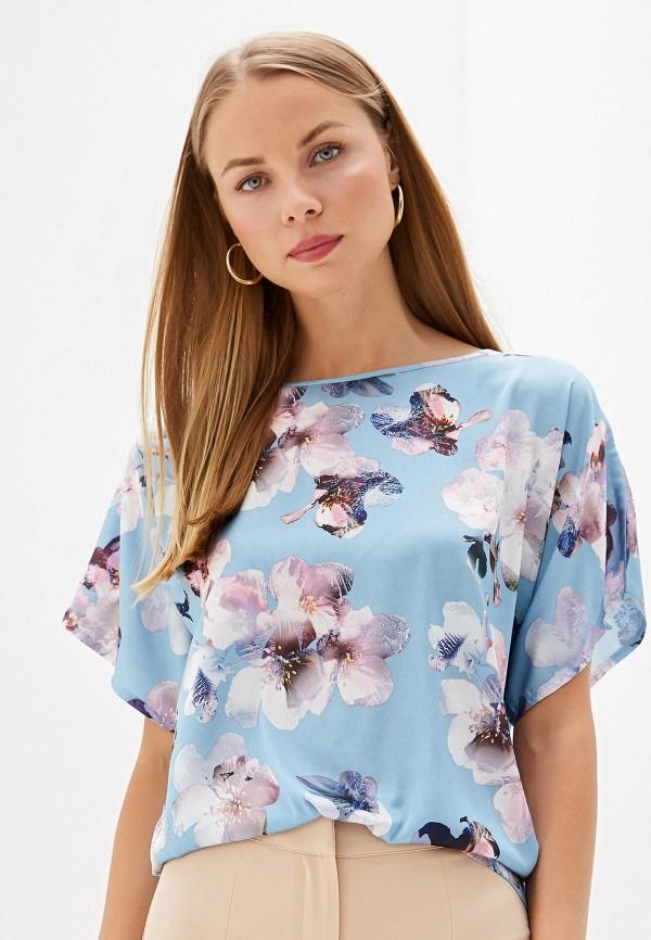 Фото - Женскую блузку Анна Голицына голубого цвета