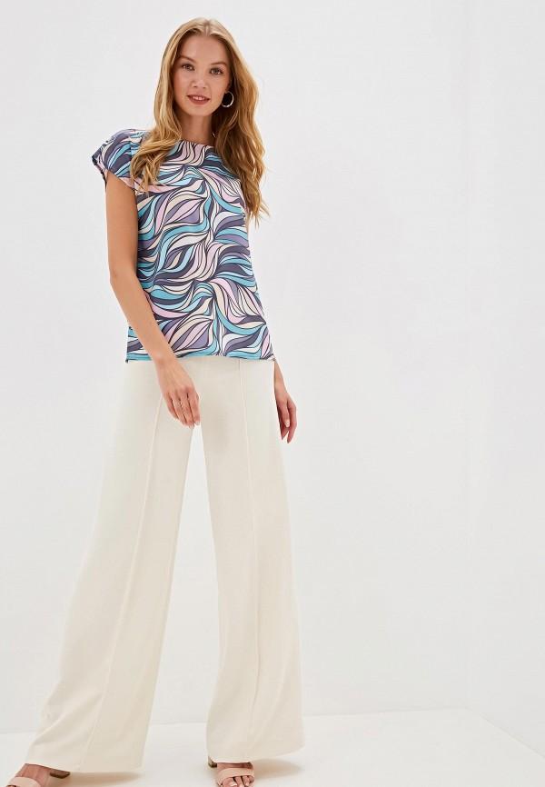 Фото 2 - Женскую блузку Анна Голицына разноцветного цвета
