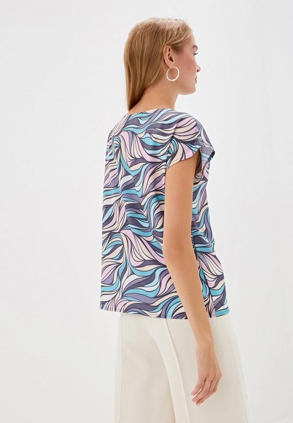 Фото 3 - Женскую блузку Анна Голицына разноцветного цвета