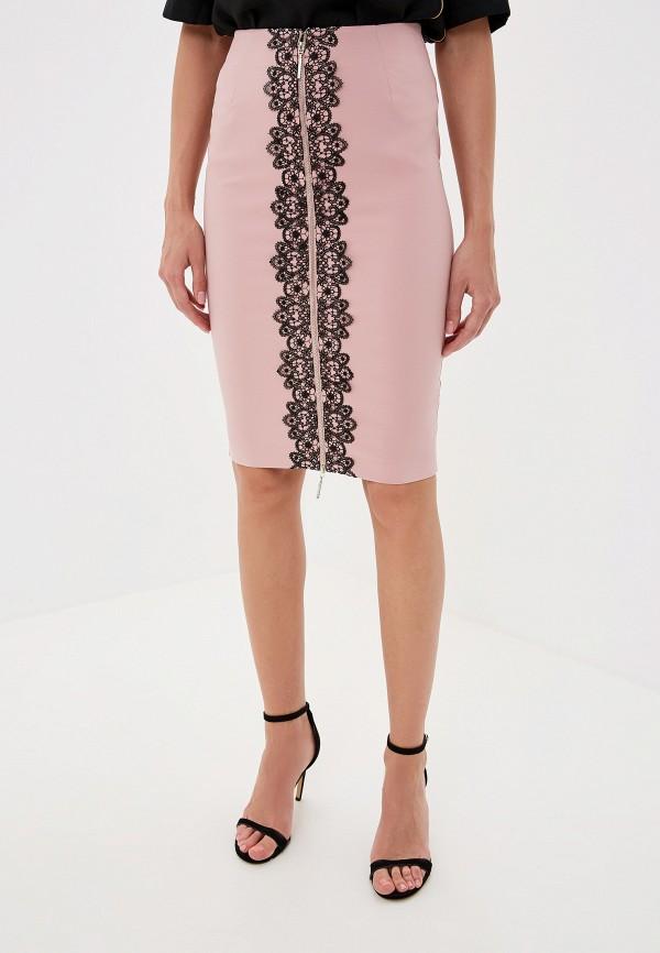 женская юбка love republic, розовая