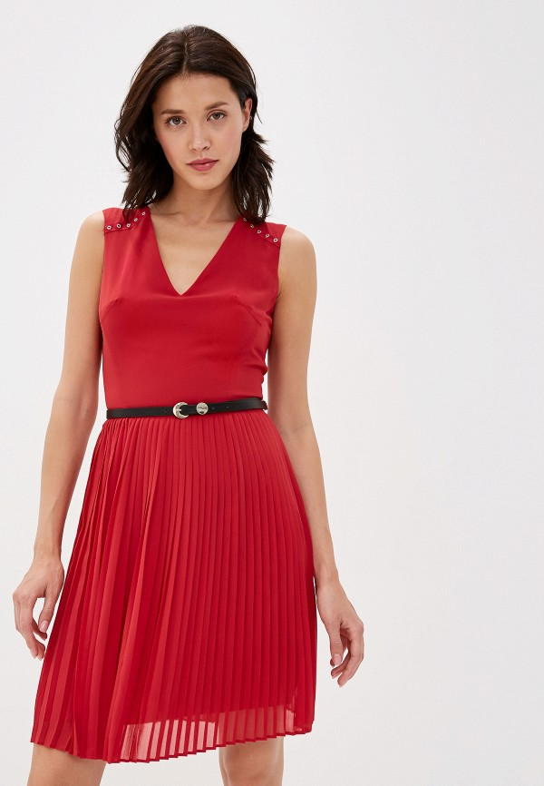 женское платье love republic, красное