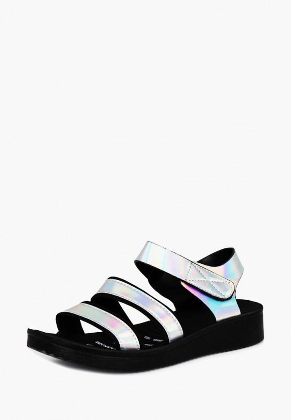 женские сандалии belletta, серебряные