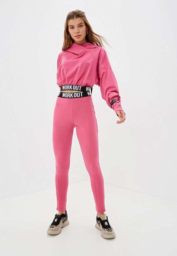 Фото - Костюм спортивный Malaeva розового цвета