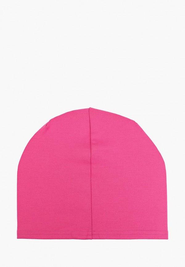 Фото 2 - Женскую шапку Malaeva розового цвета