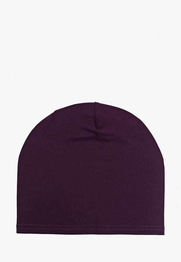 Фото - Женскую шапку Malaeva фиолетового цвета
