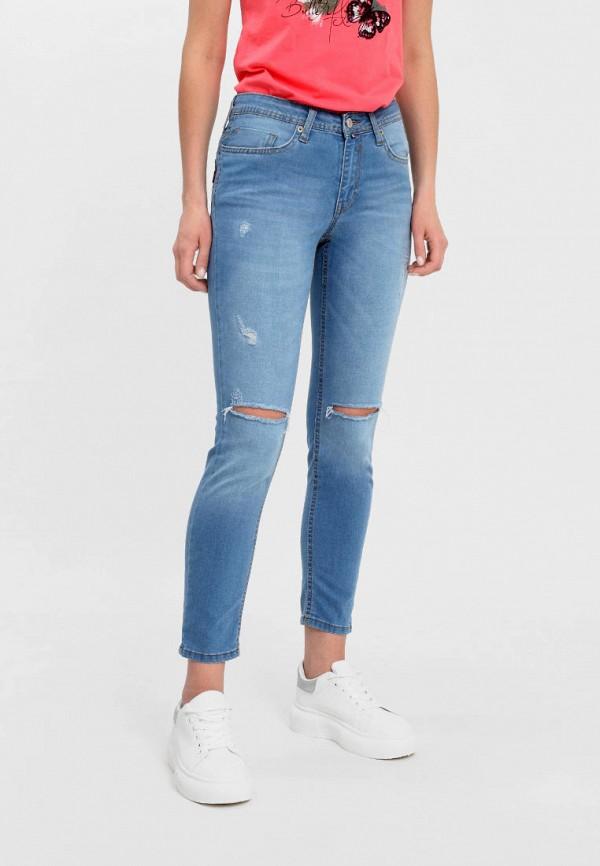 женские джинсы f5, голубые