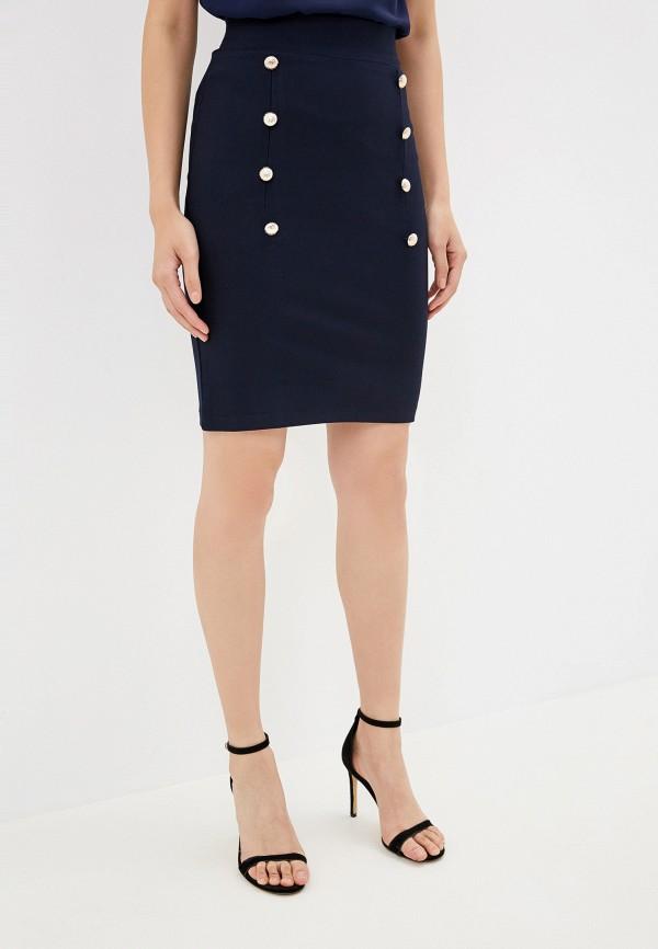 женская юбка avemod, синяя