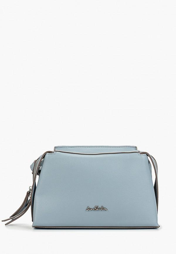 женская сумка jane shilton, голубая