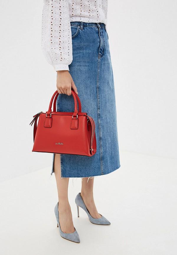 Фото 4 - Женские сумки и аксессуары Jane Shilton красного цвета