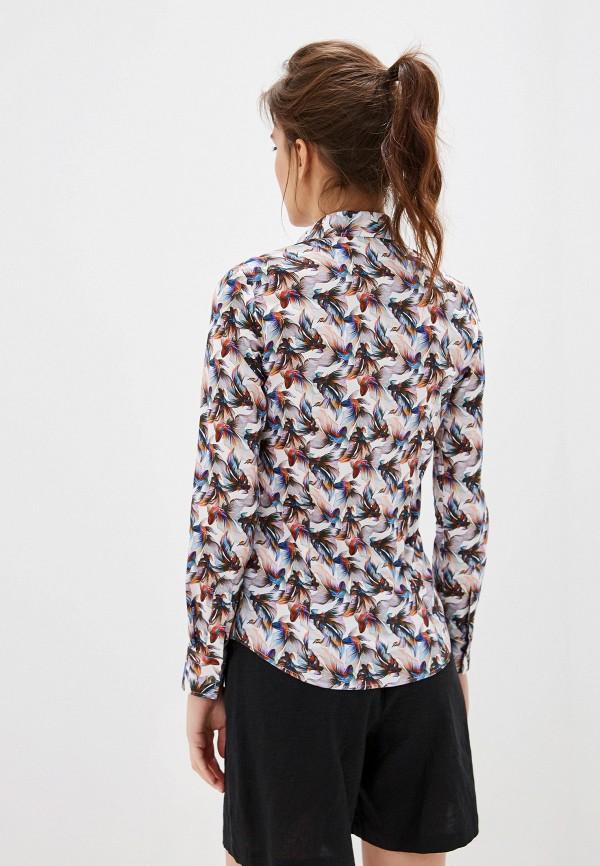Фото 3 - Рубашку Bawer белого цвета