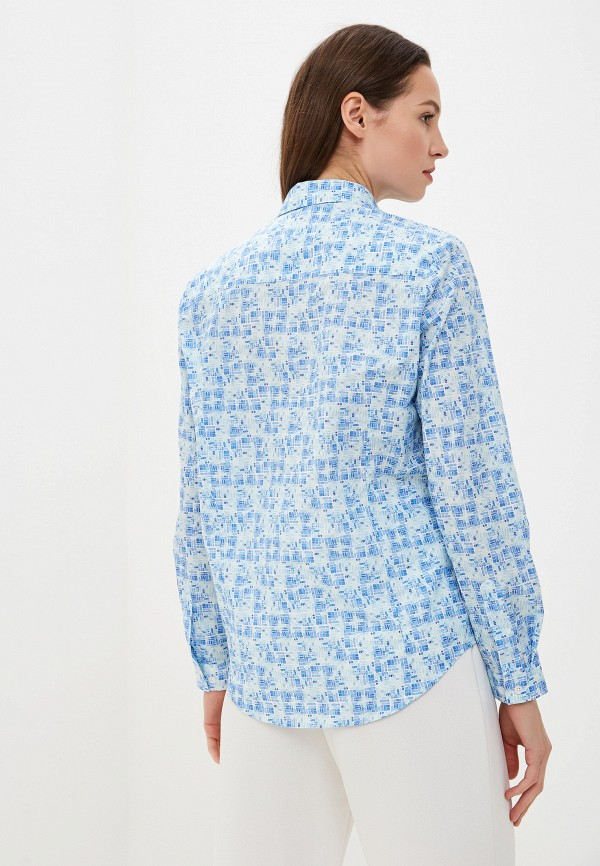 Фото 3 - Рубашку Bawer голубого цвета