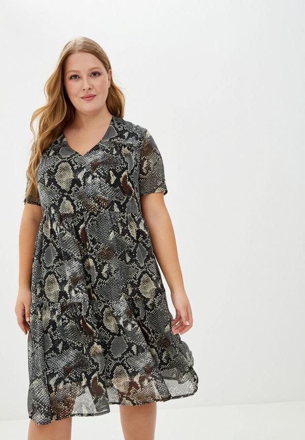 женское платье dora, серое