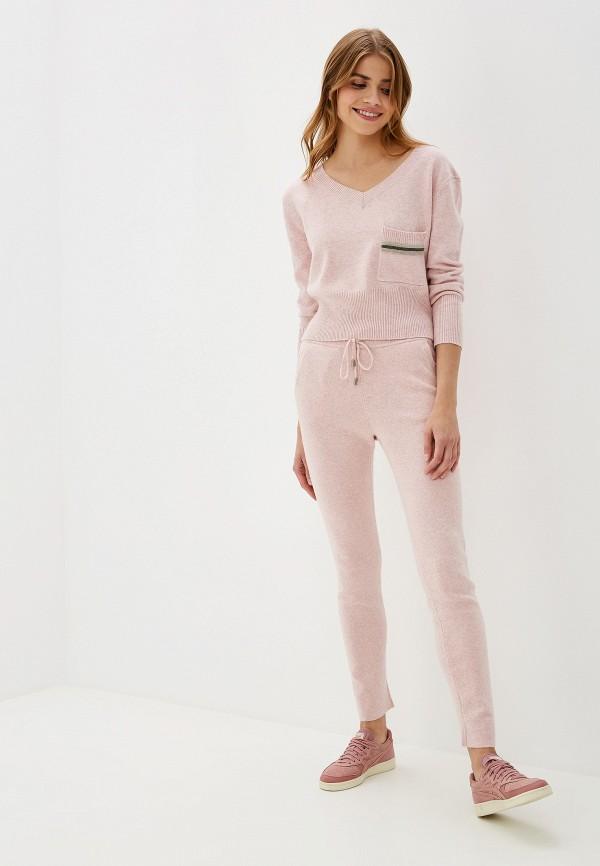 женский костюм moda di lusso, розовый