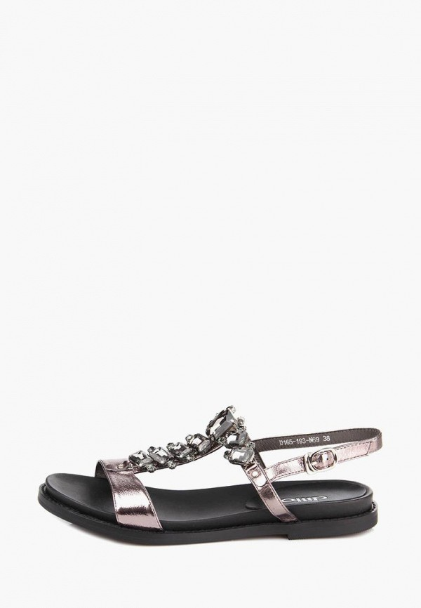женские сандалии ditto, розовые