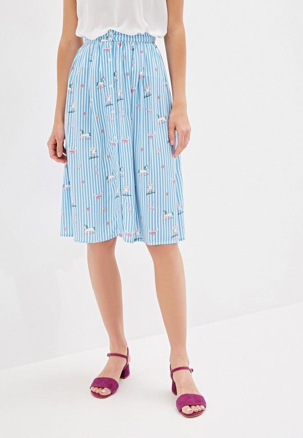 Фото - Женскую юбку Incity голубого цвета