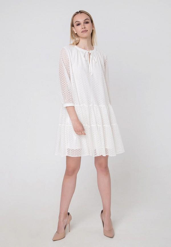 Фото 2 - Женское платье Fors белого цвета