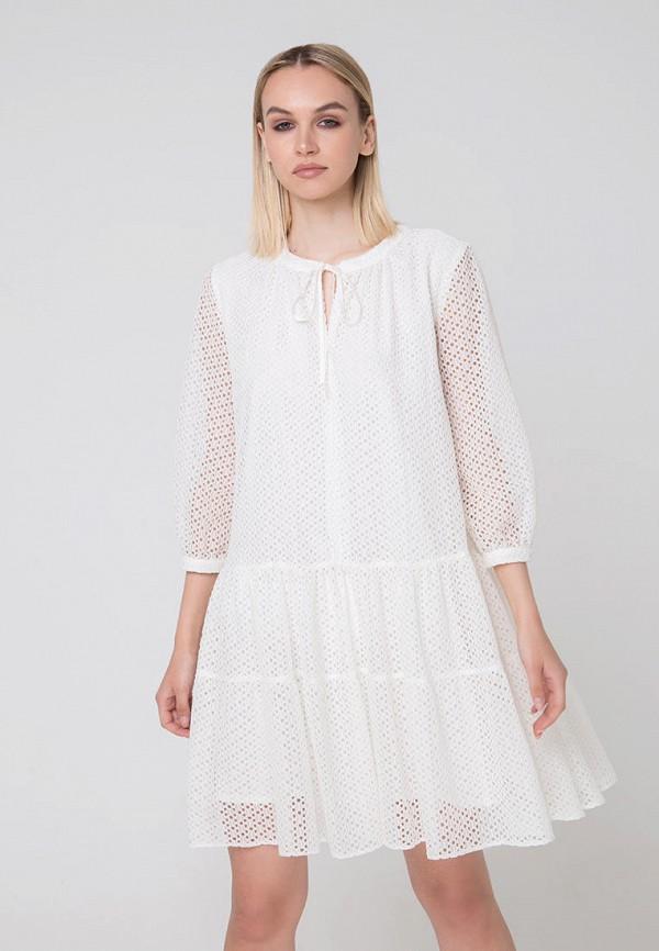 Фото - Женское платье Fors белого цвета