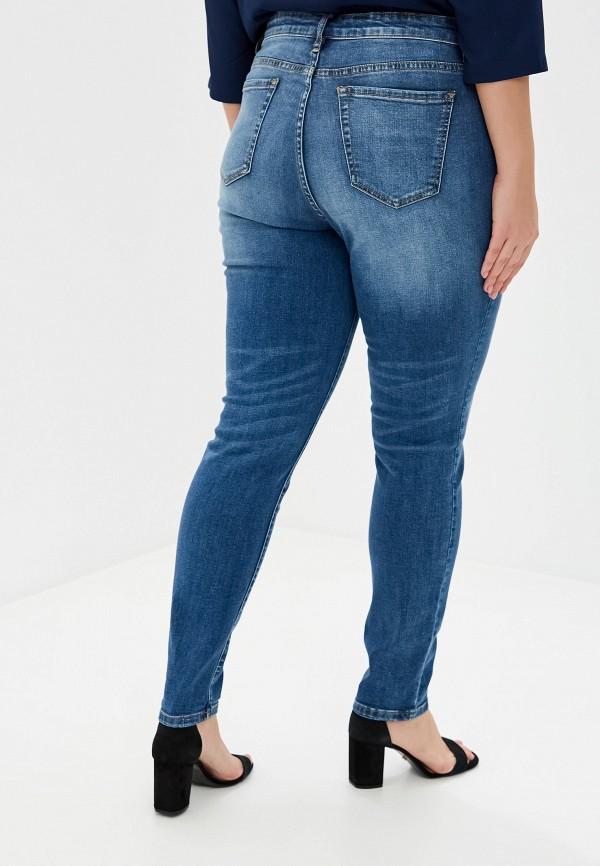 Фото 3 - Женские джинсы Incity синего цвета