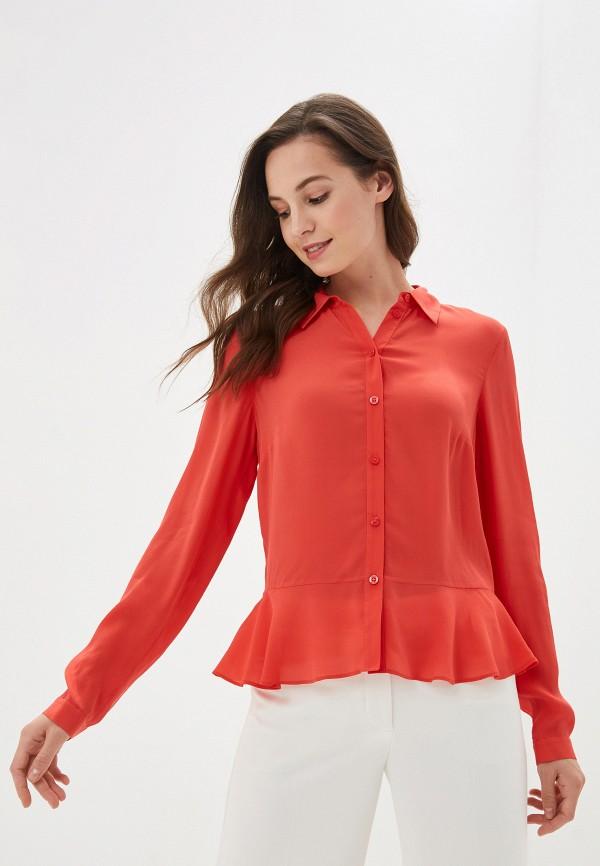 женская блузка madeleine, красная
