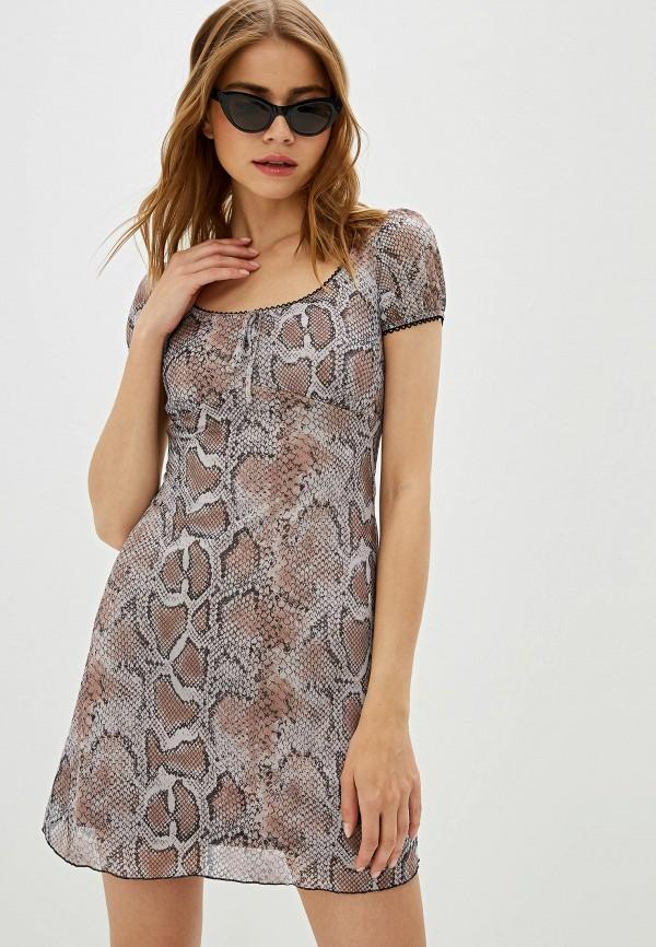 женское платье befree, бежевое