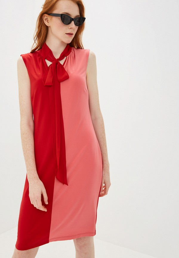 женское платье madeleine, красное