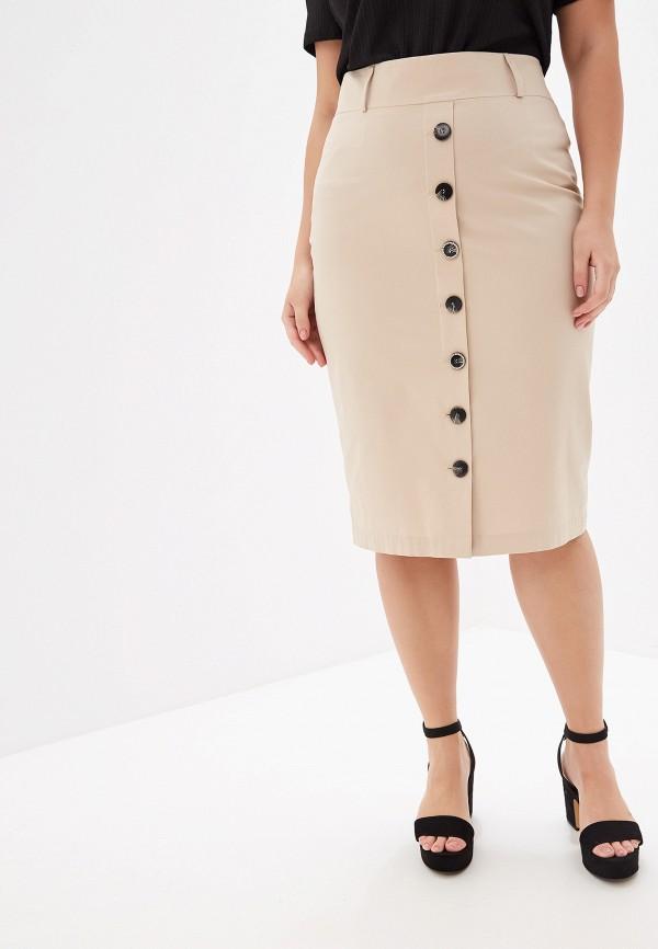 женская юбка madeleine, бежевая