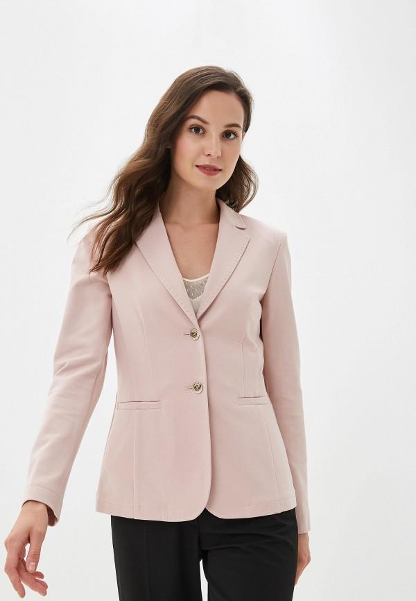 женский пиджак madeleine, розовый